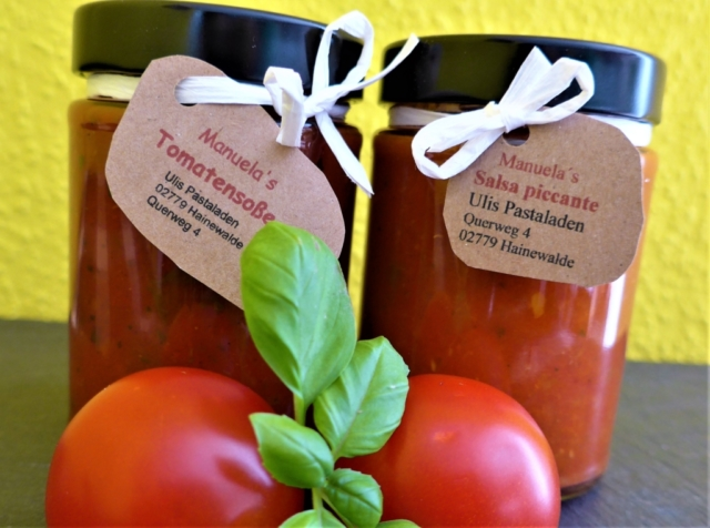 Manuela's Tomatensoße